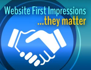 Website First Impressions Matter