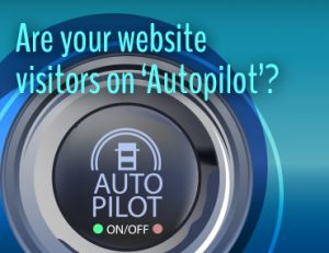 Don't get stuck on autopilot.